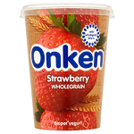 Onken Strawberry Biopot Yogurt 0% Fat 450g