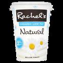 Rachel's Organic Low Fat Natural 2% Fat Bio-Live Yogurt 450g
