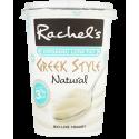 Rachel's Organic Fat Free Greek Style Natural Bio-Live Yogurt 450g