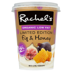 Rachel's Organic Limited Edition Fig & Honey Bio-Live Yogurt 450g
