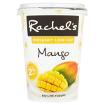 Rachel's Organic Low Fat Mango Bio-Live Yogurt 450g