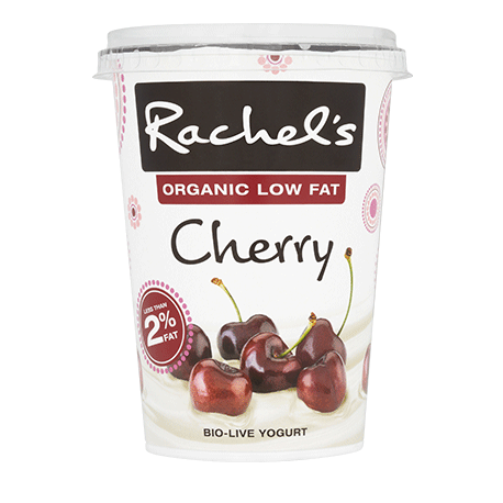 Rachel's Organic Low Fat Cherry Yogurt 450g