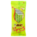 Bic Pure Lady 3 Bladeed 4+2 Disposable Razors