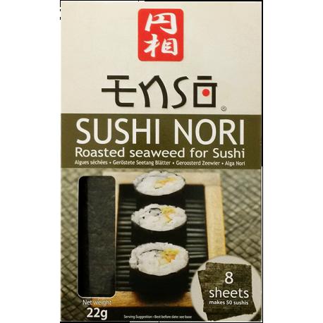 Enso Sushi Nori Roasted Seaweed for Sushi 8 Sheets