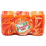 Canada Dry Orange 6x355ml Pack