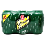 Schweppes Ginger Ale 6x300ml Pack