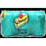 Schweppes Bitter Lemon 6x330ml Pack