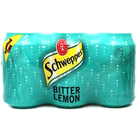 Schweppes Bitter Lemon 6x300ml Pack