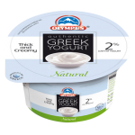 Olympus Authentic Greek Strained Yogurt Natural 2% Fat 150g